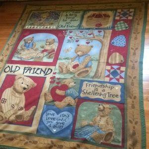 Teddy Bear Throw Blanket